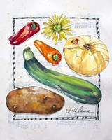 Kitchen Veggies II Fine Art Print