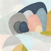 Whimsical Valley I Framed Print