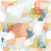 Mosaic Scatter I Framed Print