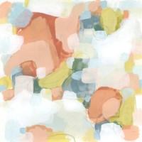 Mosaic Scatter II Framed Print