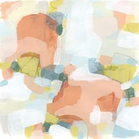 Mosaic Scatter III Framed Print