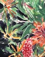 Garden Fest III Framed Print