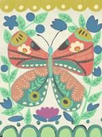 Flutterfly I Framed Print