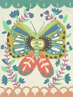 Flutterfly II Framed Print