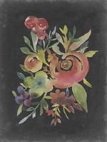 Velvet Floral I Framed Print