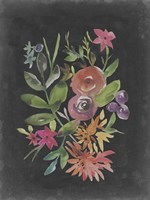 Velvet Floral II Framed Print