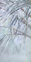 Grey Palms I Framed Print