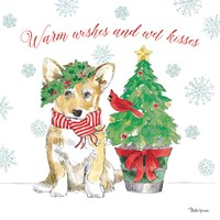 Holiday Paws V Fine Art Print