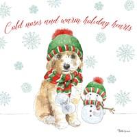 Holiday Paws IV Framed Print