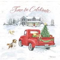 Farmhouse Holidays VIII Fine Art Print