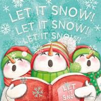 Let it Snow VIII Eyes Open Fine Art Print