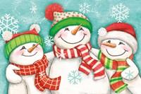 Let it Snow III Eyes Open Fine Art Print
