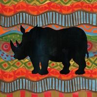 African Animal IV Fine Art Print