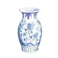 Ginger Jar II on White Fine Art Print