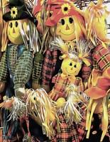 Scarecrow Family Fine Art Print
