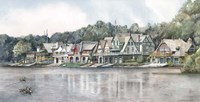 Boathouse Row 6 Fine Art Print