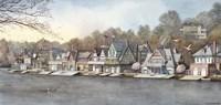 Boathouse Row 7 Fine Art Print
