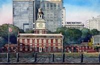 Independence Hall 3 Fine Art Print