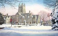 Saint Josephs University 3 Fine Art Print