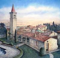South Tuscany Sunrise Fine Art Print