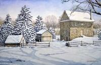 Spring Mill Fine Art Print