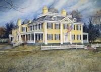 Longfellow's House Fine Art Print