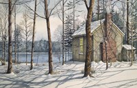 On Walden Pond Fine Art Print