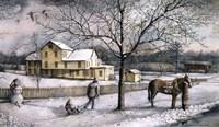Snow Days Fine Art Print