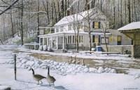 Valley Green Inn III Fine Art Print