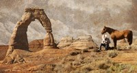Cowboy Arch Fine Art Print