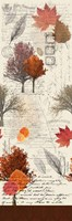 Fall Time Panel Fine Art Print