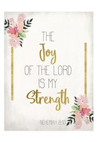 The Joy of The Lord Fine Art Print