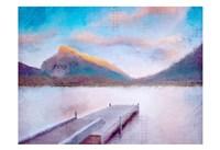 Banff Dock Fine Art Print