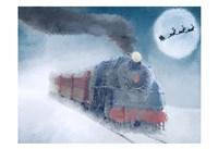 Christmas Eve Travel Fine Art Print