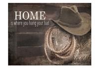 Hang Your Hat Fine Art Print