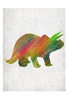 Bright Dino 3 Fine Art Print