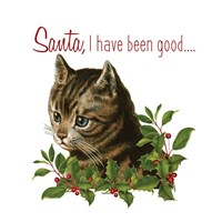 Cat Christmas 1 Fine Art Print