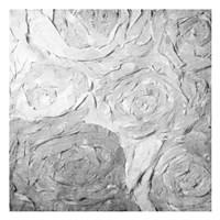 Paper Roses Grey 1 Fine Art Print