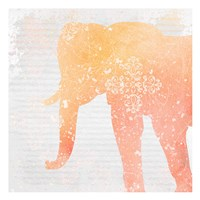 Elephant Dreams 3 Framed Print