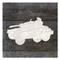 Military Vehicle 4 Fine Art Print