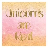 Unicorns are Real 2 Fine Art Print