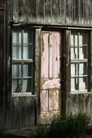Colorado Cabin Door Fine Art Print