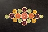 Citrus Drama III Fine Art Print