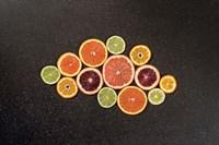 Citrus Drama I Fine Art Print