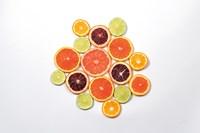 Sunny Citrus I Fine Art Print