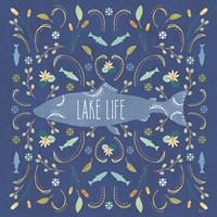 Otomi Lake V Dark Fine Art Print