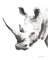 Rhino Gray Crop Fine Art Print