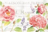Maison Des Fleurs I Fine Art Print