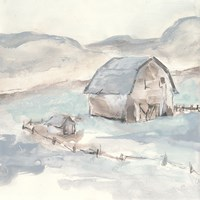 Barn IV Fine Art Print