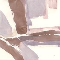 White and Placid II Blush Fine Art Print